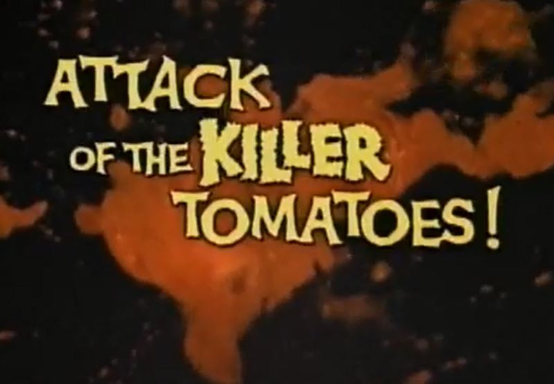 Killer Tomatoes title card