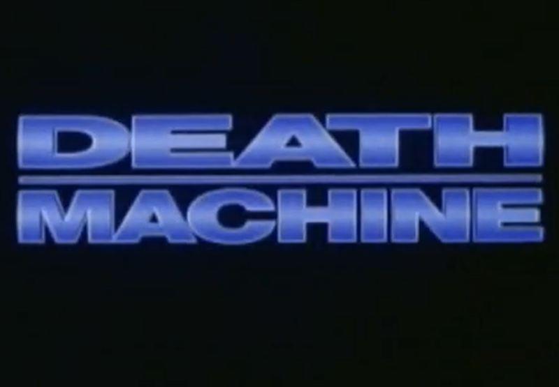 Death Machine title card