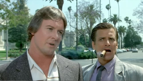 Roddy Piper and Dirk Benedict