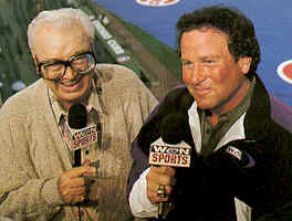 Harry Caray and Steve Stone