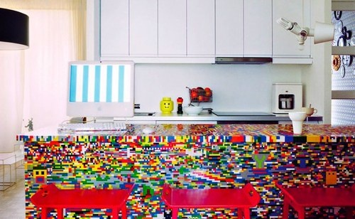 LEGO kitchen counter