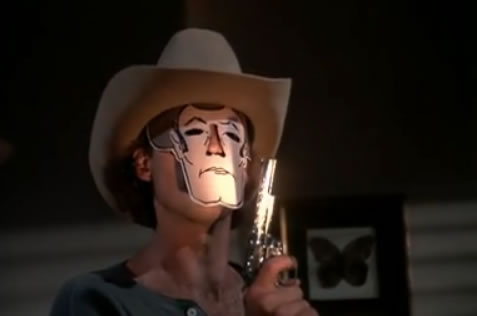 Murdock in his Range Rider mask