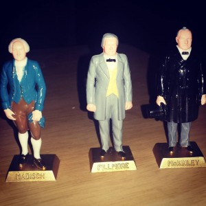 Three Louis Marx president figurines from derekjaniak and loganpass Thankshellip