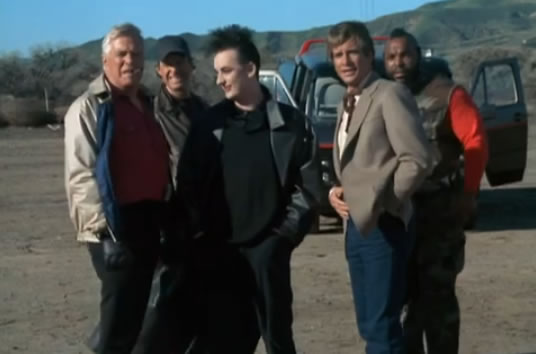 The A Team And Boy George