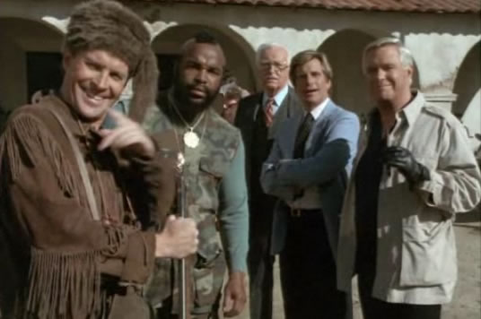 The A-Team and Rudy