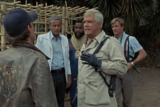 The A-Team and Dr. Richter