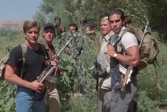 The A-Team is armed but surrounded