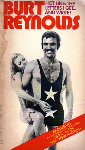 Burt Reynolds in a singlet