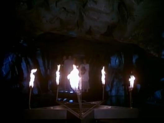 Pentagram in the basement!