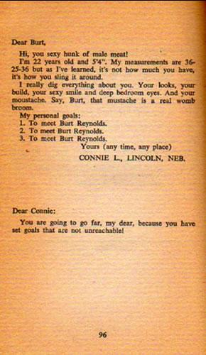 Burt Reynolds book excerpt