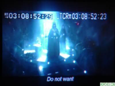 Darth Vader: Do Not Want