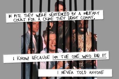 A-Team postsecret
