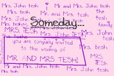 John Tesh love postsecret