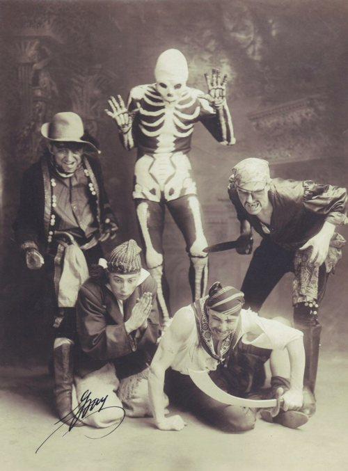 Pirates and skeleton guy