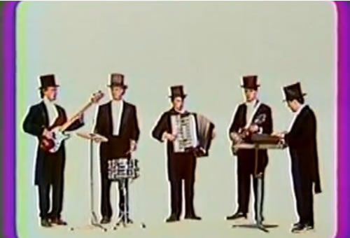 Soviet band with hats!