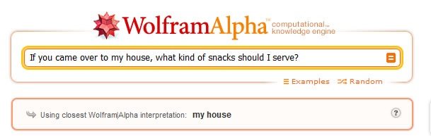 If you came over to my house, what kind of snacks should I serve?