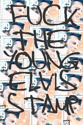 Elvis stamp postsecret