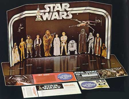 The Star Wars collector box thing