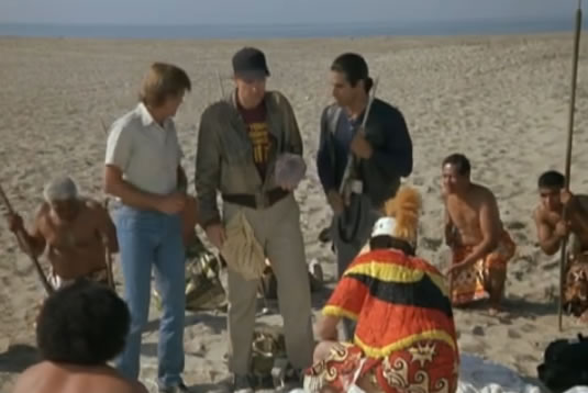 The islanders worship Murdock