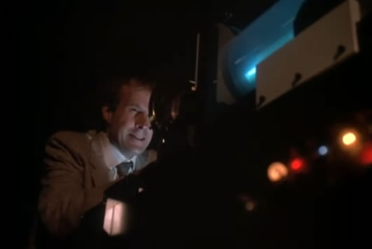 Murdock uses the Soviet lasers