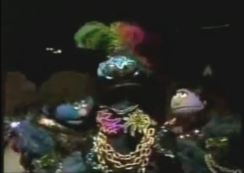 Cookie Monster gets funky