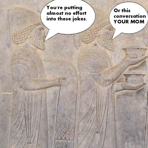 Two ancient Babylonians argue