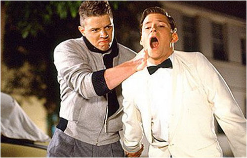 Biff and George McFly