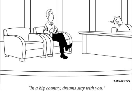 In a big country, dreams stay with you