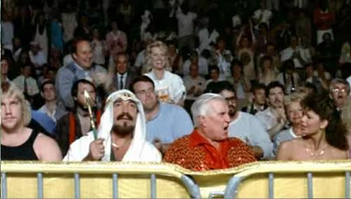 Sheik Al-Kaissey and Freddie Blassie