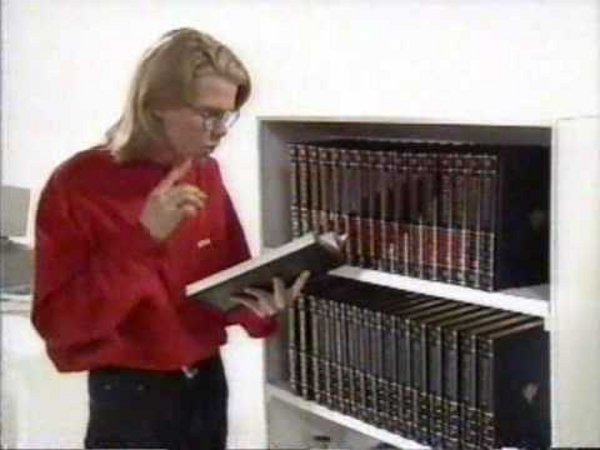 That Encyclopedia Britannica commercial