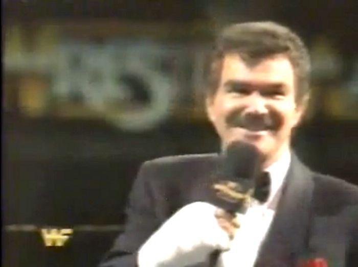 Burt Reynolds at Wrestlemania!