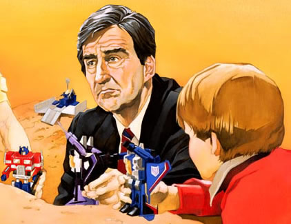 Jack McCoy plays Transformers