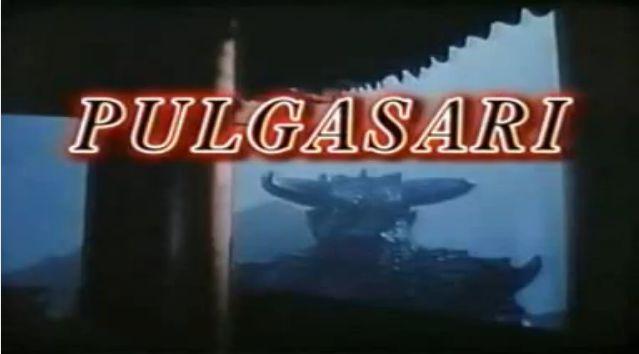 Pulgasari title card
