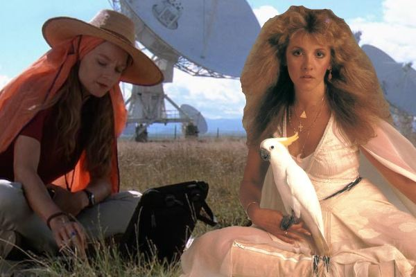 "Jodie Foster and Stevie Nicks star in ""Contact"""