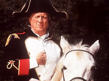 George Steinbrenner as Napoleon