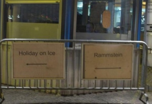 Holiday on ice? Or Rammstein?