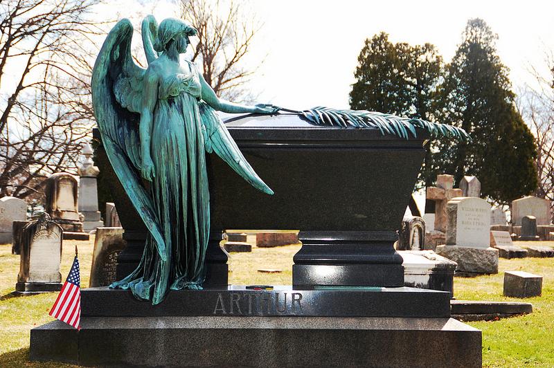 Chester Arthur's grave