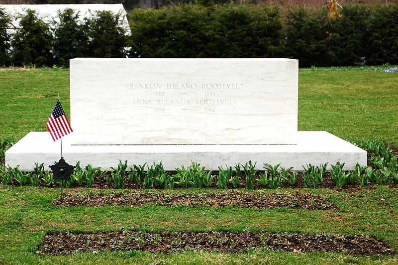 Franklin Roosevelt's grave