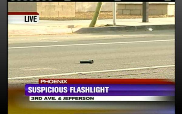 """""""Suspicious Flashlight"""" in Phoenix"""