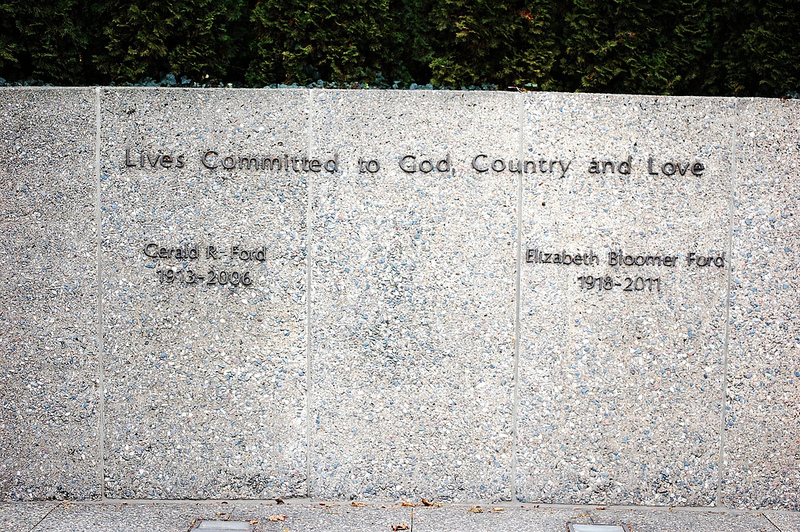 Gerald Ford gravesite