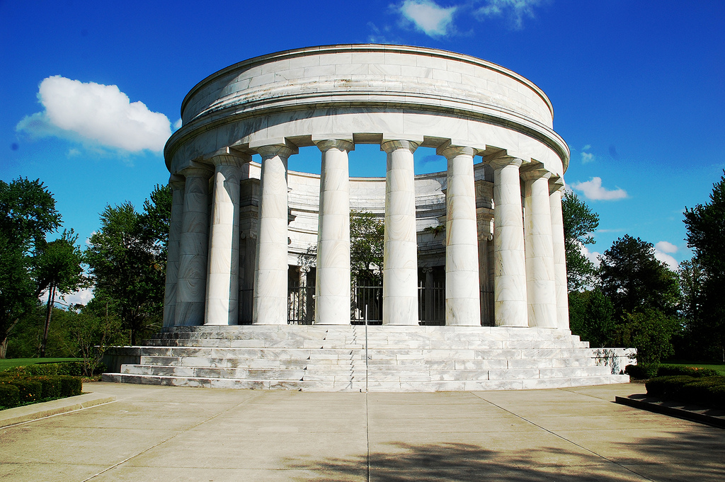 Warren Harding's tomb