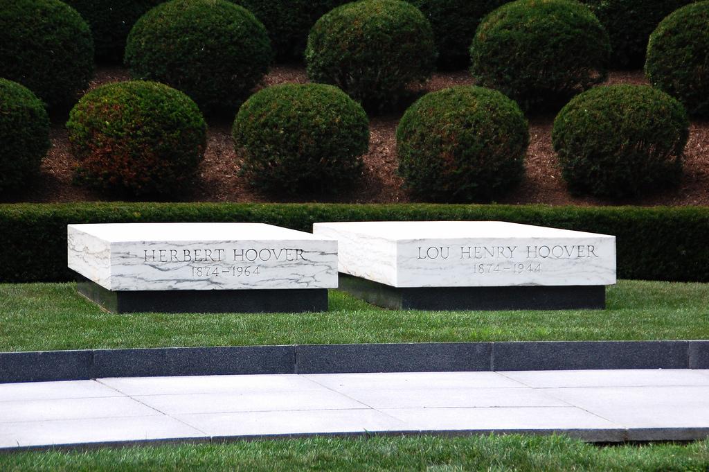 Herbert Hoover's grave