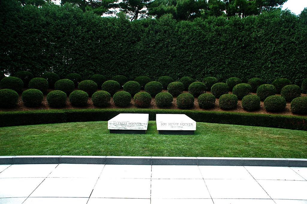Herbert Hoover's gravesite