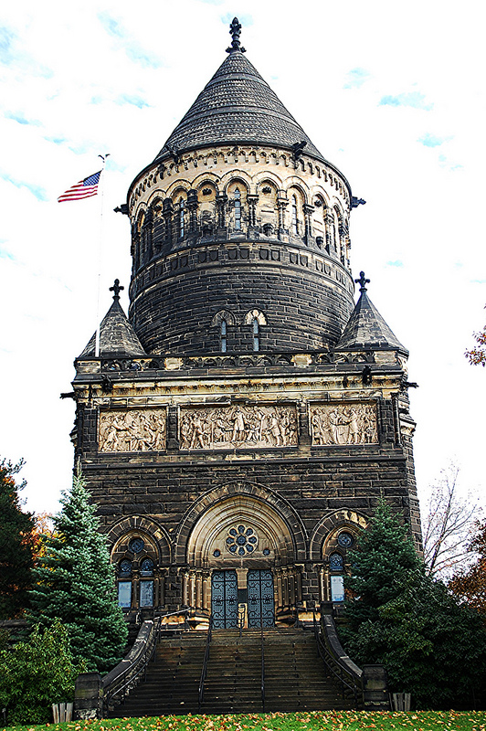 James Garfield tomb in Cleveland