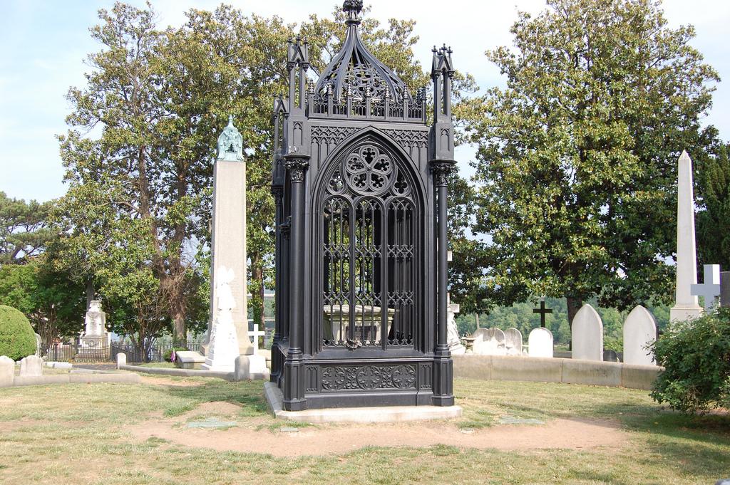 James Monroe's tomb