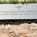 Patrick Bouvier Kennedy gravesite