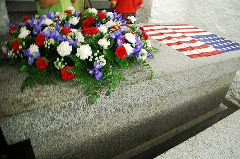 John Quincy Adams Tomb