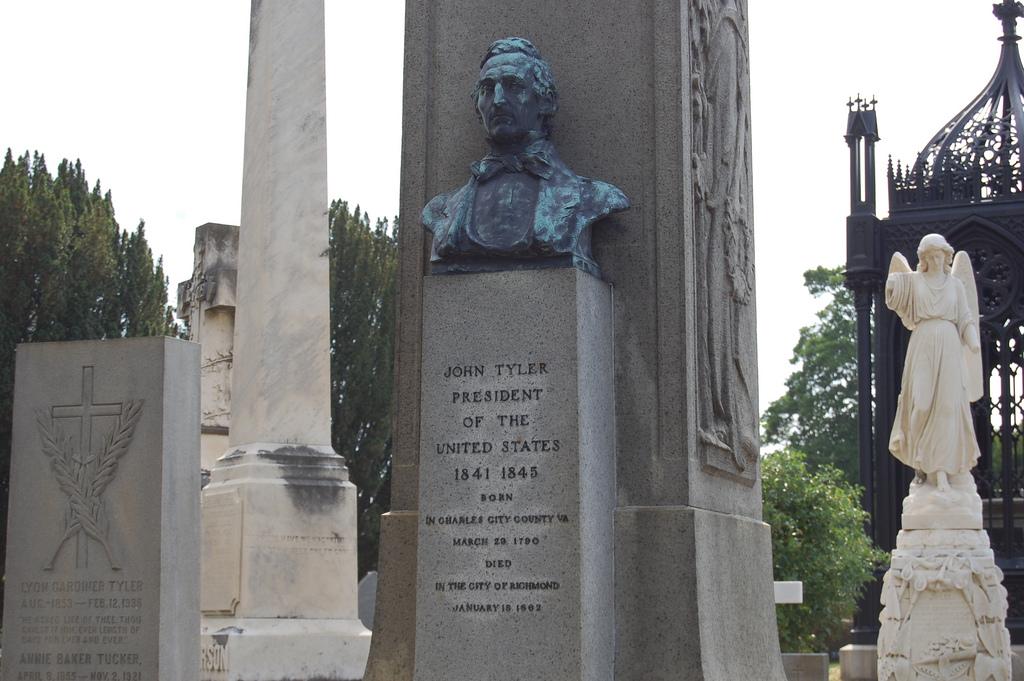John Tyler's grave