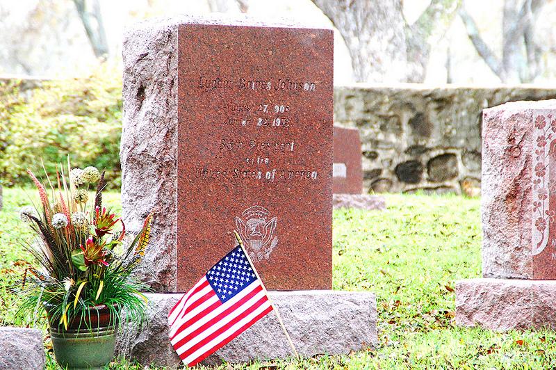 Lyndon Johnson's grave