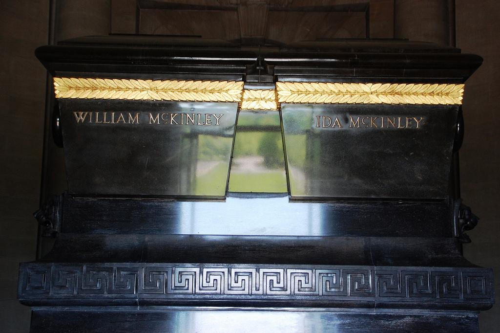 William and Ida McKinley's sarcophagus